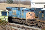 CSX #4800 at Acca yard in Richmond, VA Probably getting turned into a SD70MACe